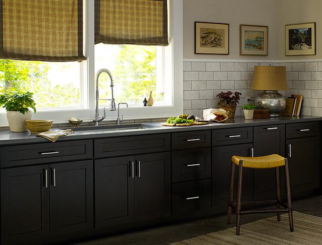 Colore nero in cucina. Cucina nera Dove comprare la cucina nera